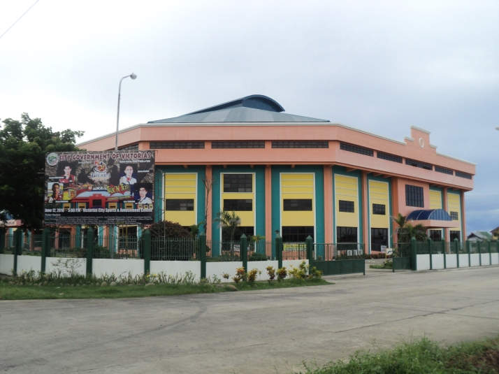 The Victorias Coliseum, a view from the NAtionla Highway.